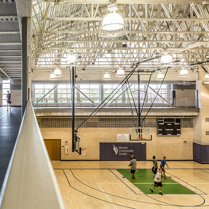 Monon Community Center Gymnasium