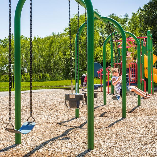 playground at Meadowlark Park