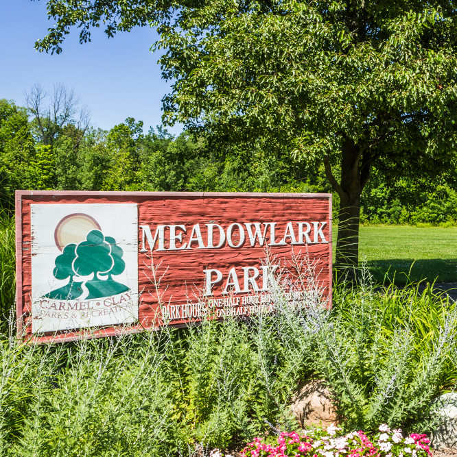 sign at Meadowlark Park