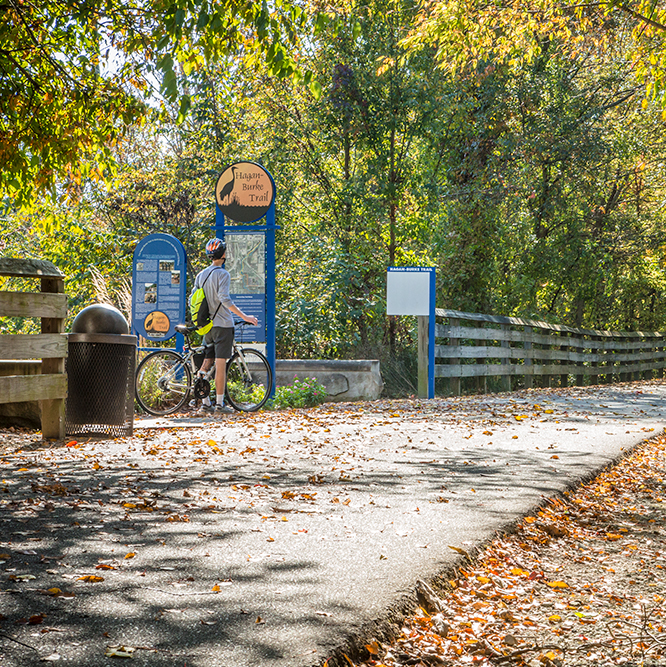 the Monon Greenway