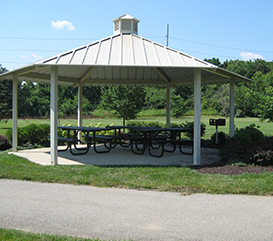 Shelter at Lenape Trace Park