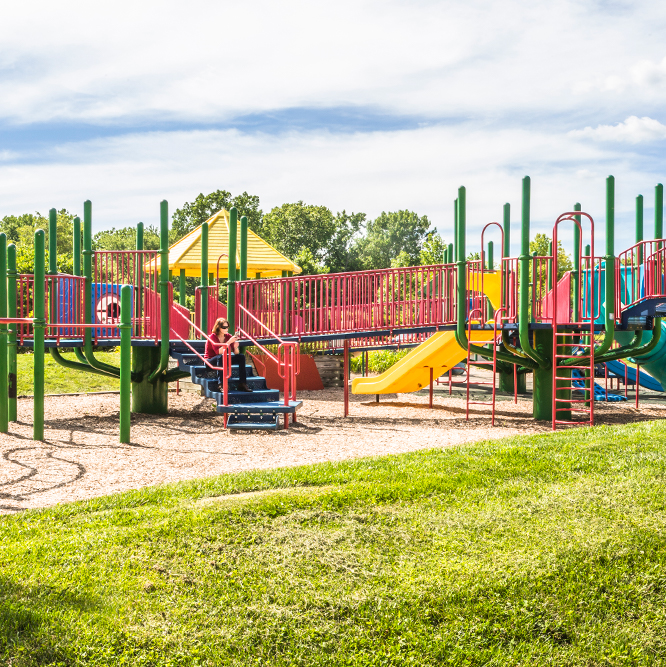 playground at River Heritage Park
