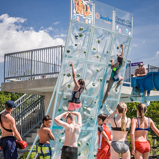 the Wall at the Waterpark
