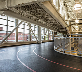 Monon Community Center Indoor Track