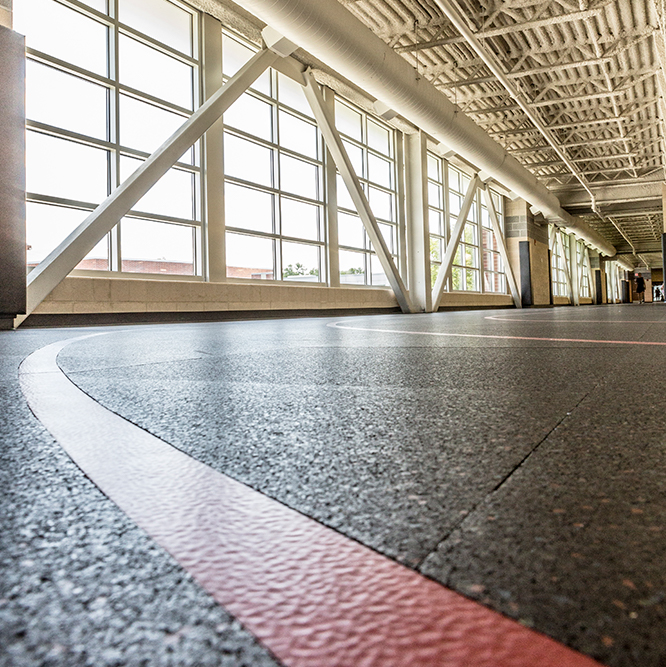 Monon Community Center Indoor Track