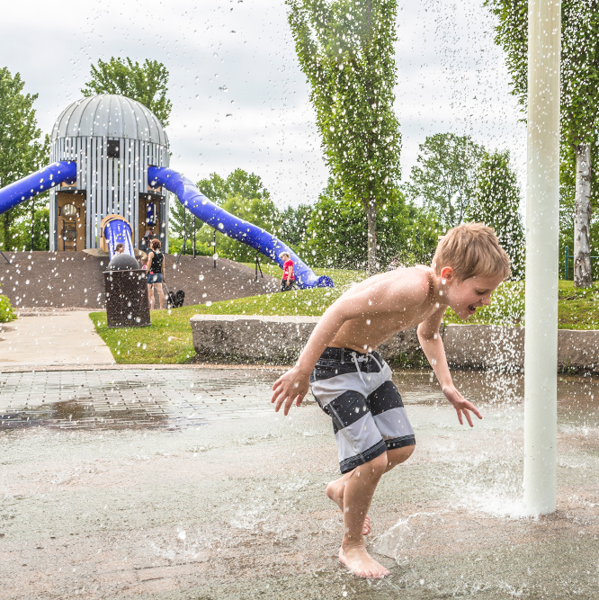 Splash Pad at West Park
