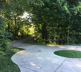 path at White River Greenway