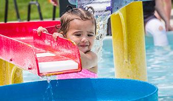 2007 girl on water slide