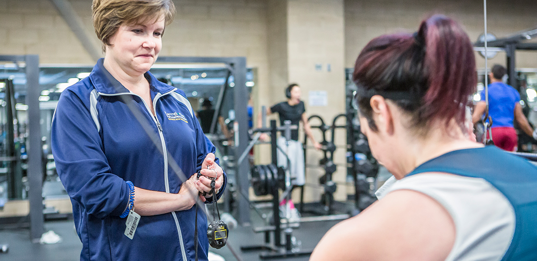 Personal Training at Fitness Center
