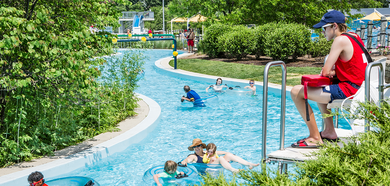 Lazy River at Carmel Clay Parks & Recreation