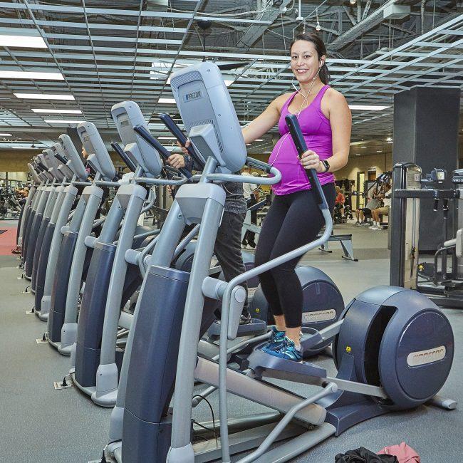 Monon Community Center Fitness Center Elliptical