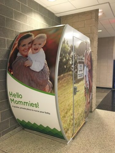 Mamava Lactation Suite for Nursing and Breastfeeding Mothers at the Monon Community Center