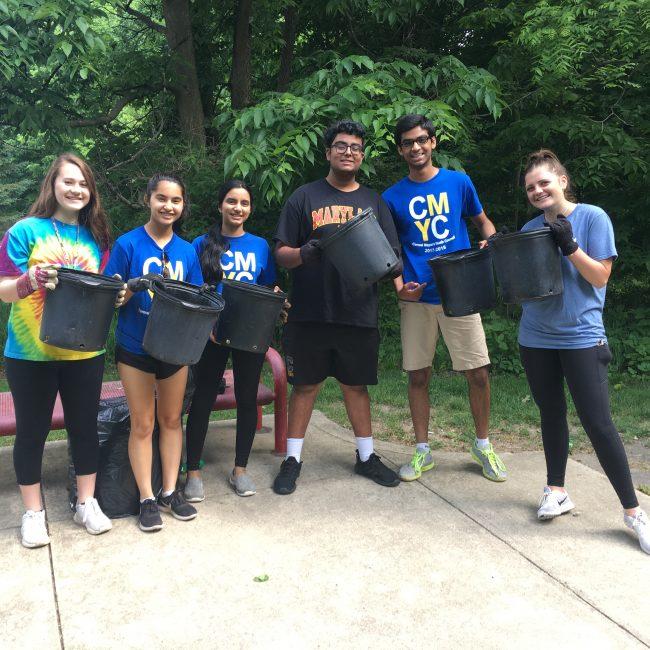 Volunteers at our park