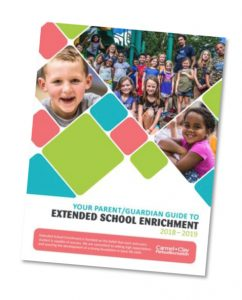 Carmel Clay Parks & Recreation Your Parent/Guardian Guide to Extended School Enrichment Graphic
