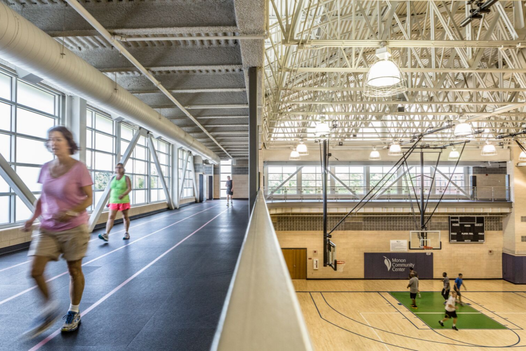 Monon Community Center Indoor Track and Courts