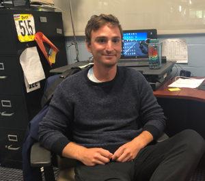 Sean Robert in his office at the MCC