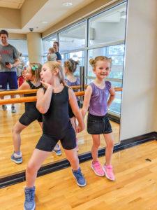 Hippity Hop Dance participants during class