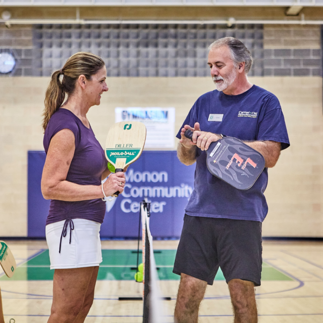 Pickleball at the Monon Community Center Gym