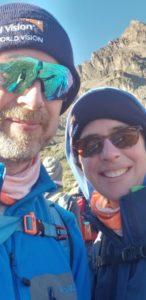 Sharon Murphy with Husband