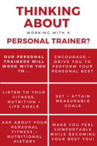 Personal Training Infographic - Why to choose the MCC for personal training