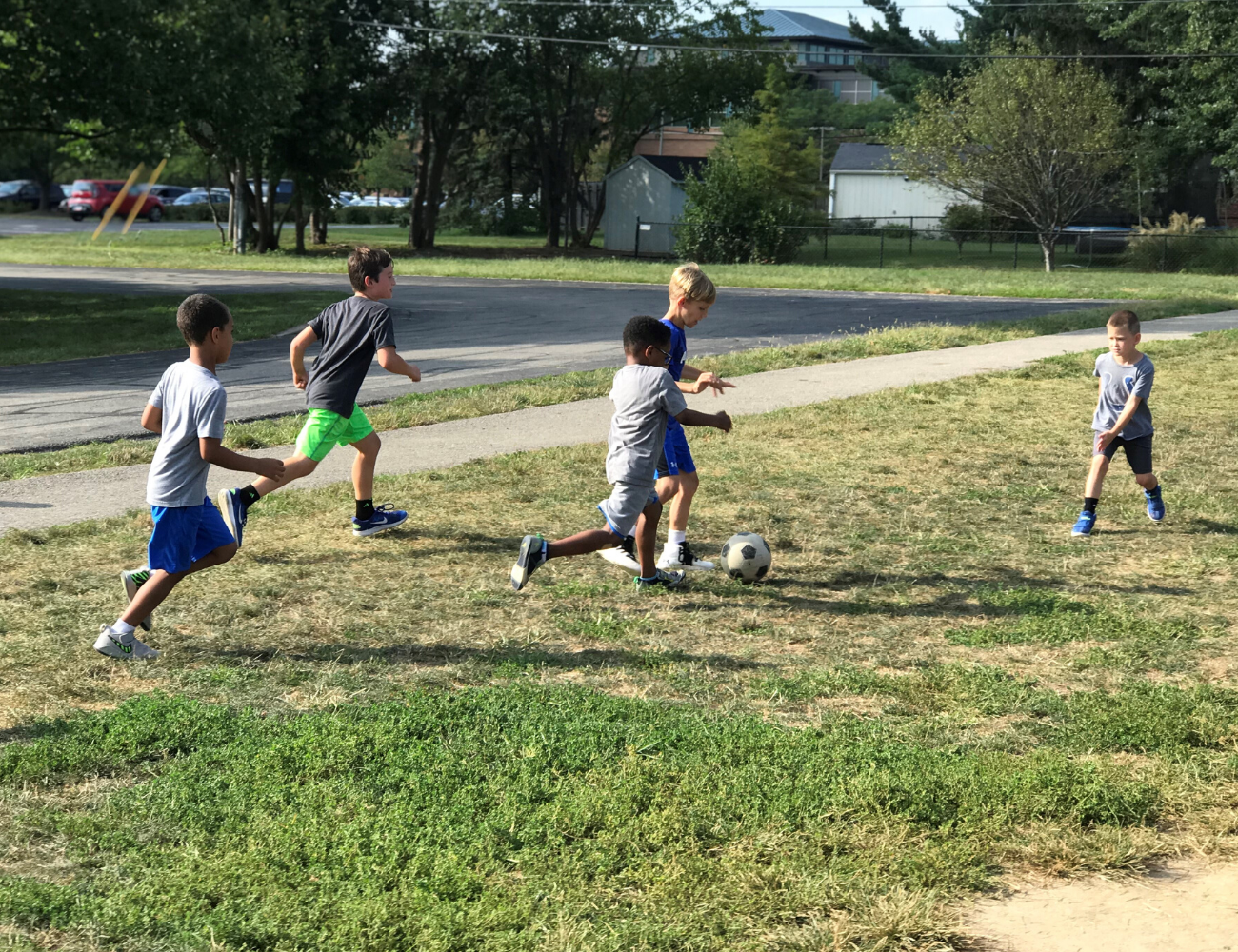 Kids at Carmel Elementary Extended School Enrichment (ESE) before and after school program