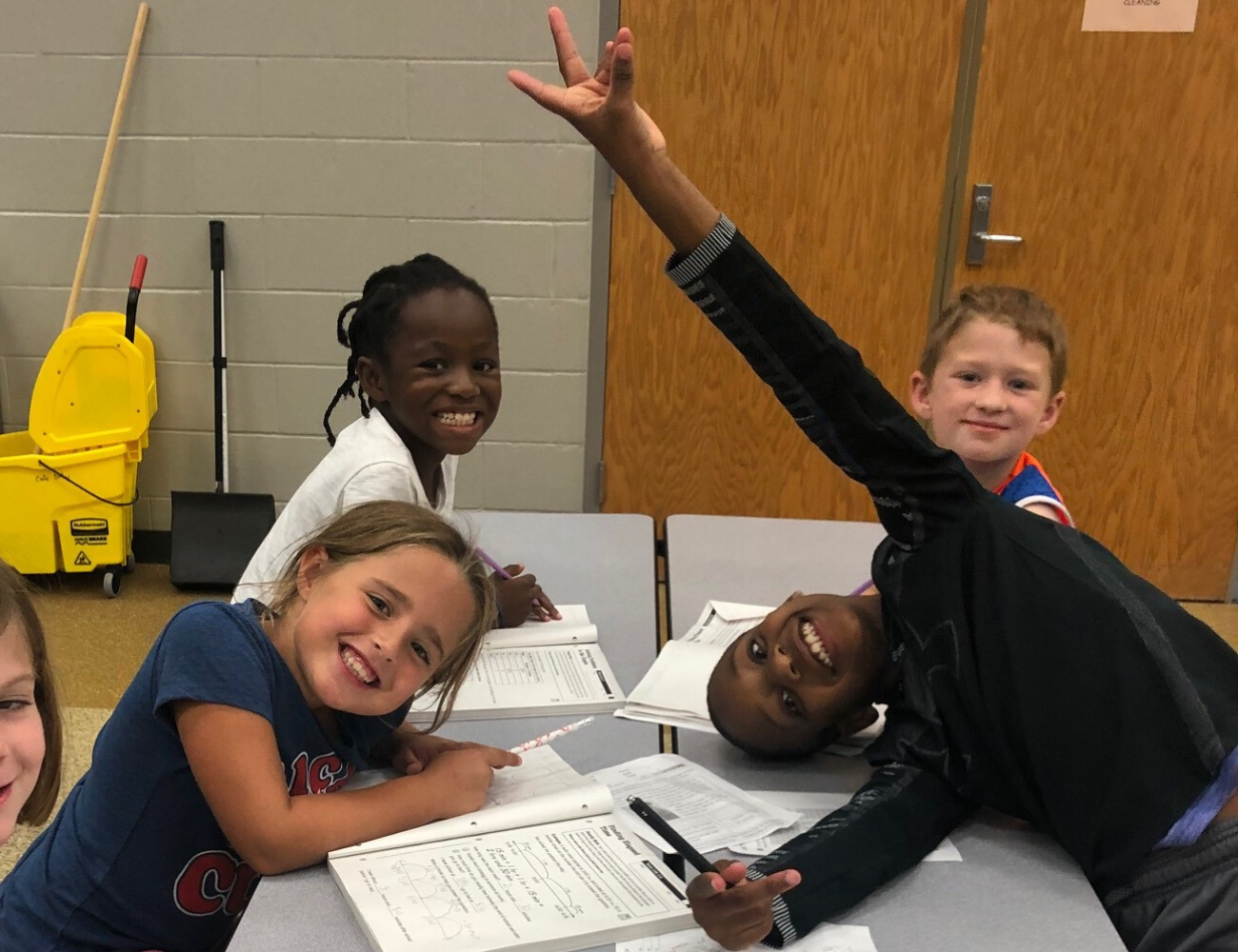 Kids at Towne Meadow Elementary Extended School Enrichment (ESE) before and after school program