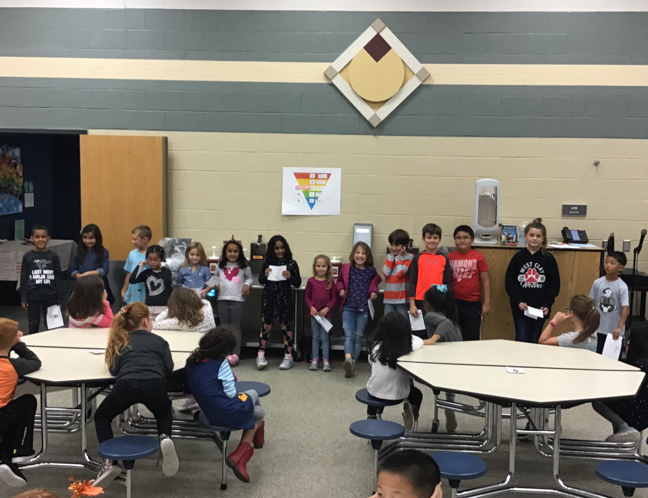 Kids at West Clay Elementary Extended School Enrichment (ESE) before and after school program