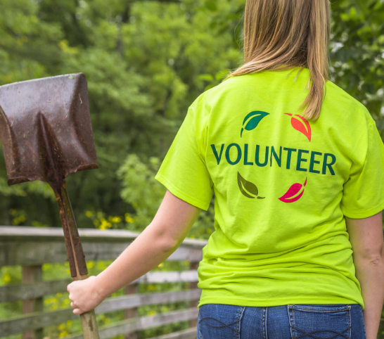 Girl Scouts Volunteer Project