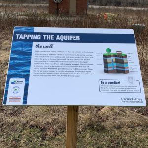 Founders Park Interpretive SIgnage