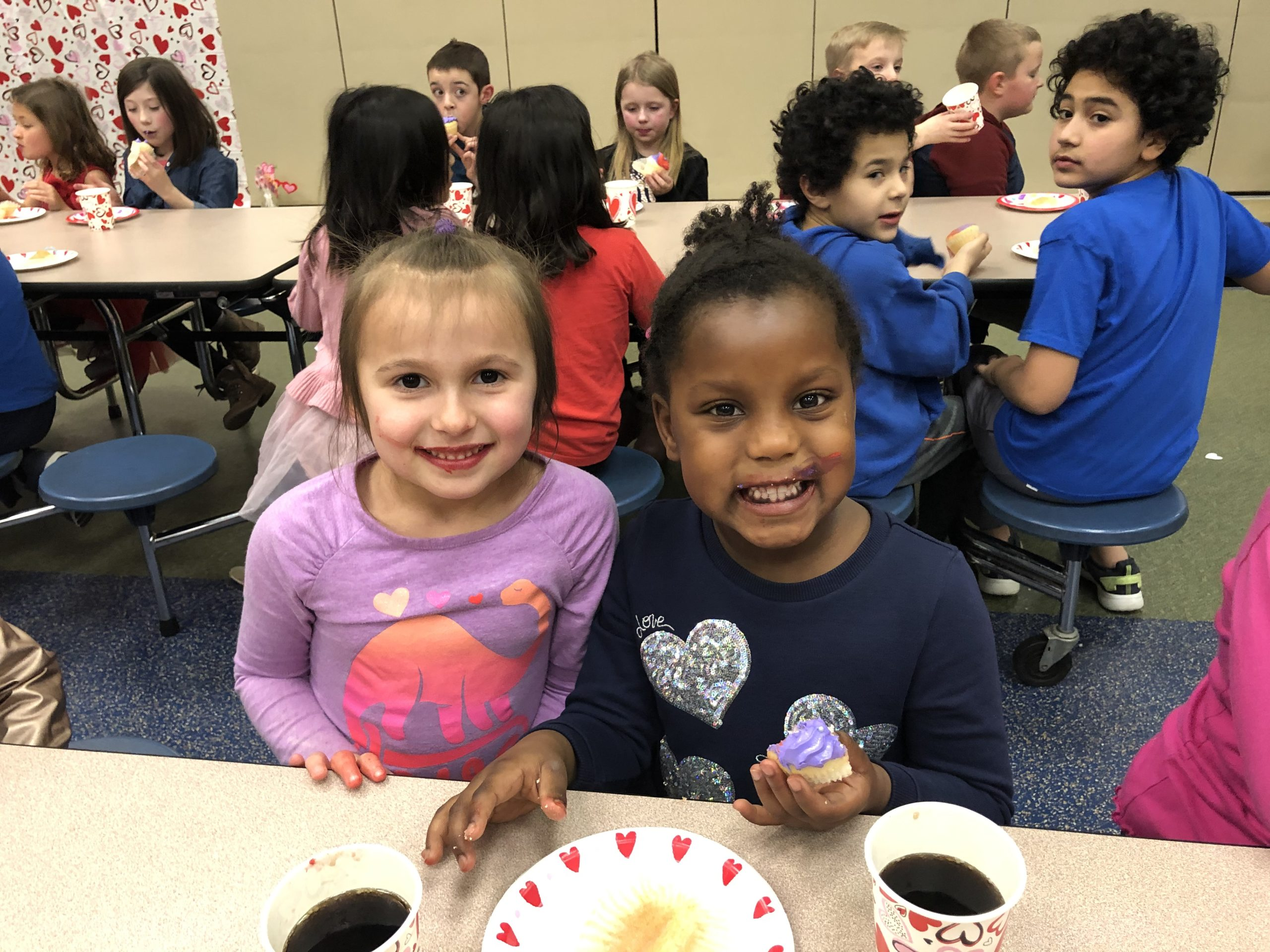 Kids at Orchard Park Elementary Extended School Enrichment (ESE) before and after school program