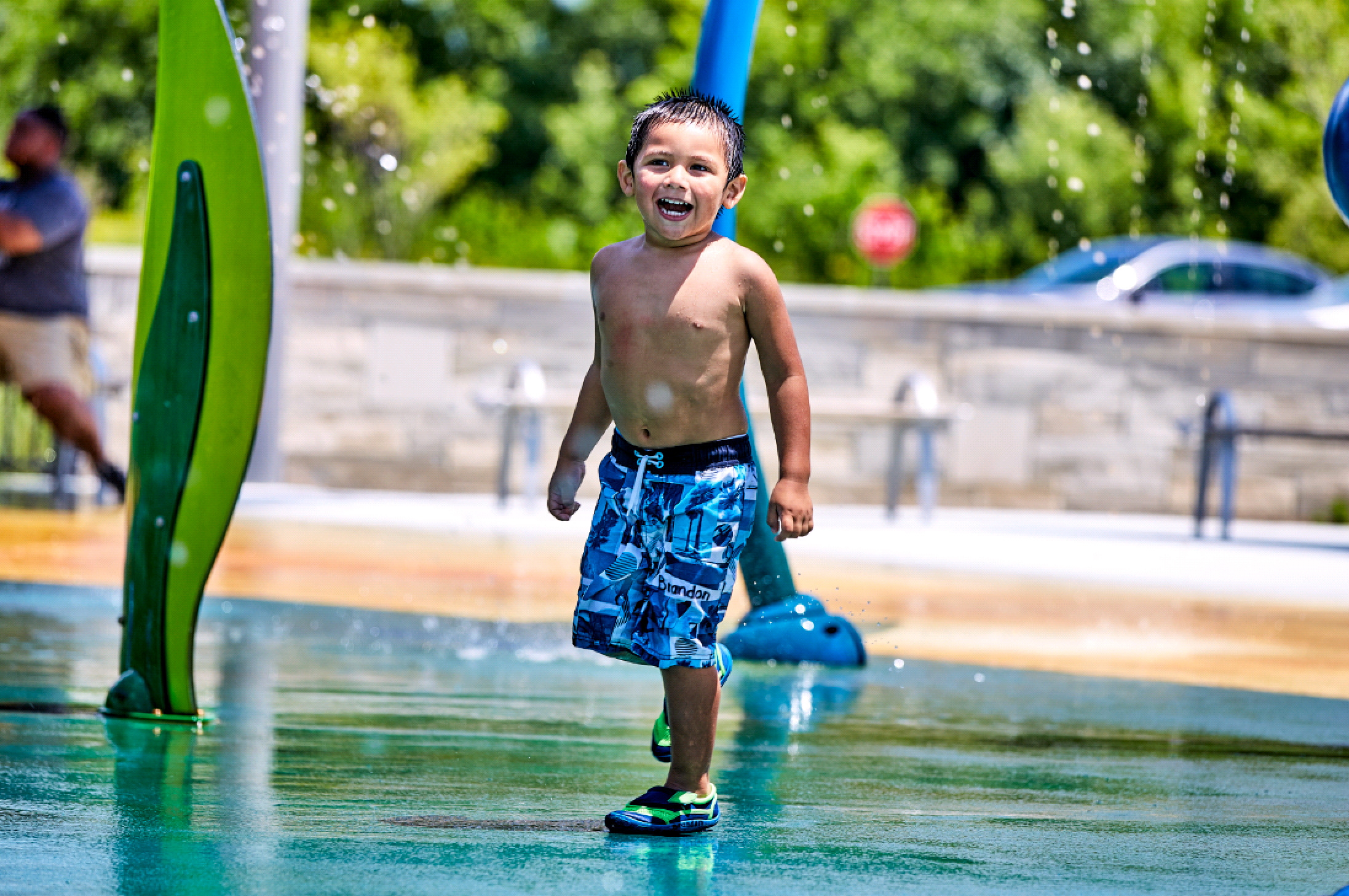 Splash Pads + Your Safety