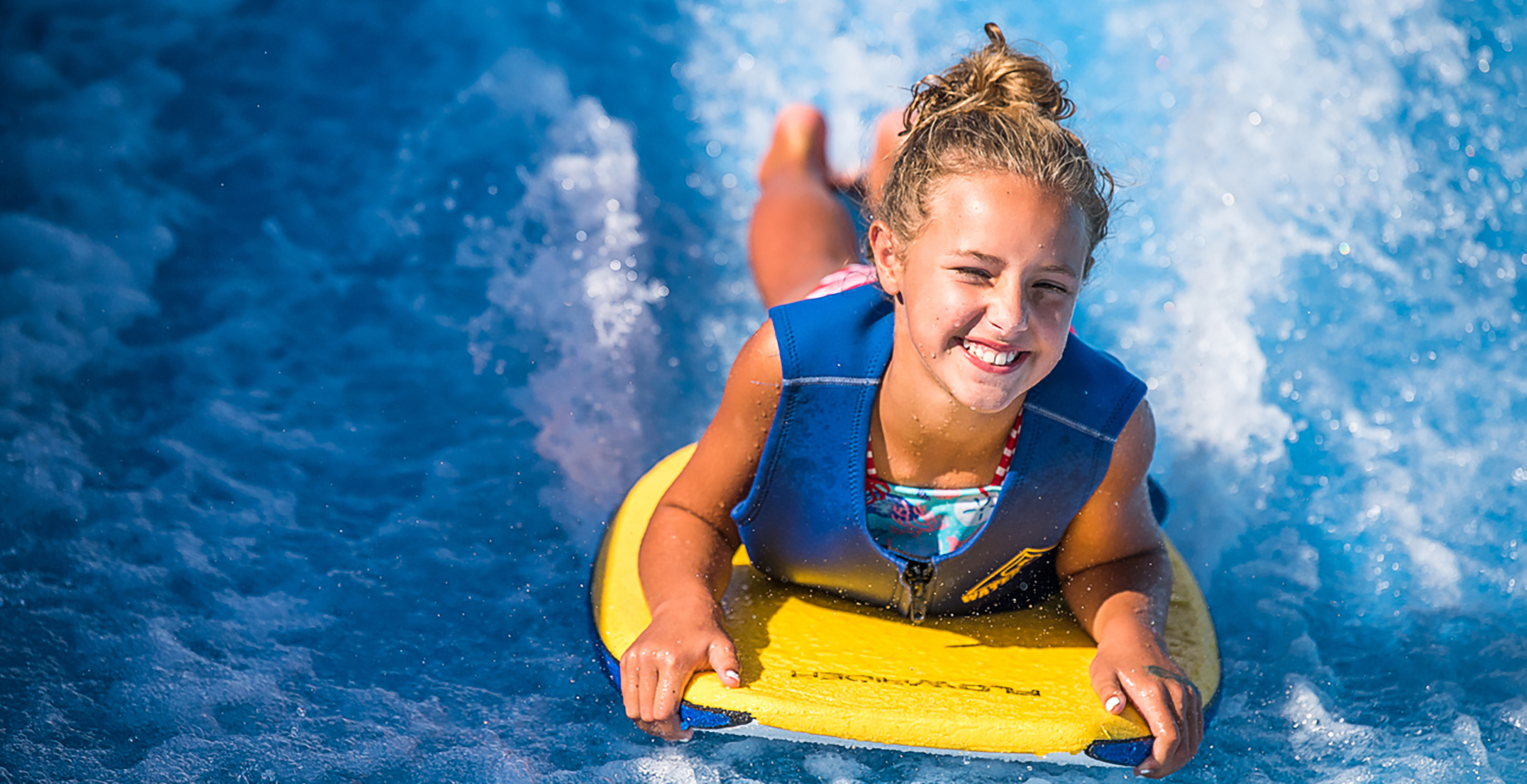 Girl on the FlowRider