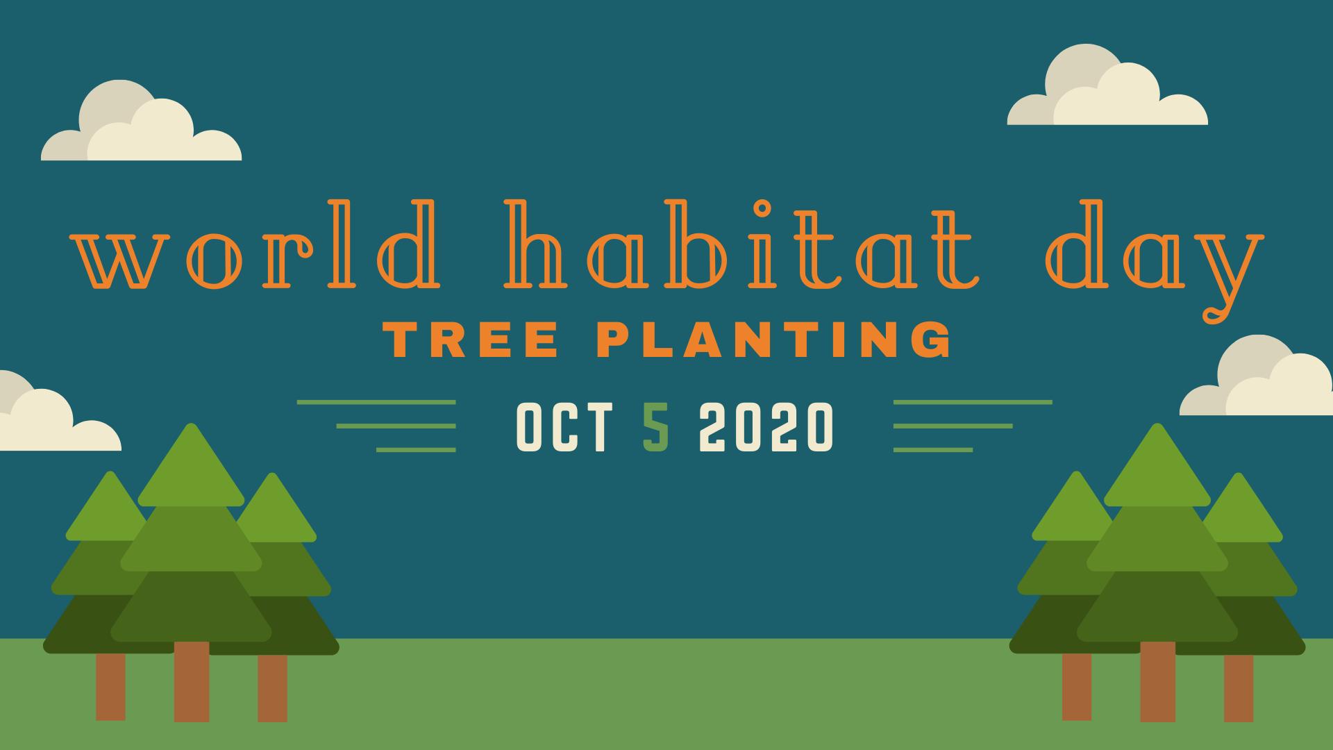 World Habitat Day 2020 Tree Planting