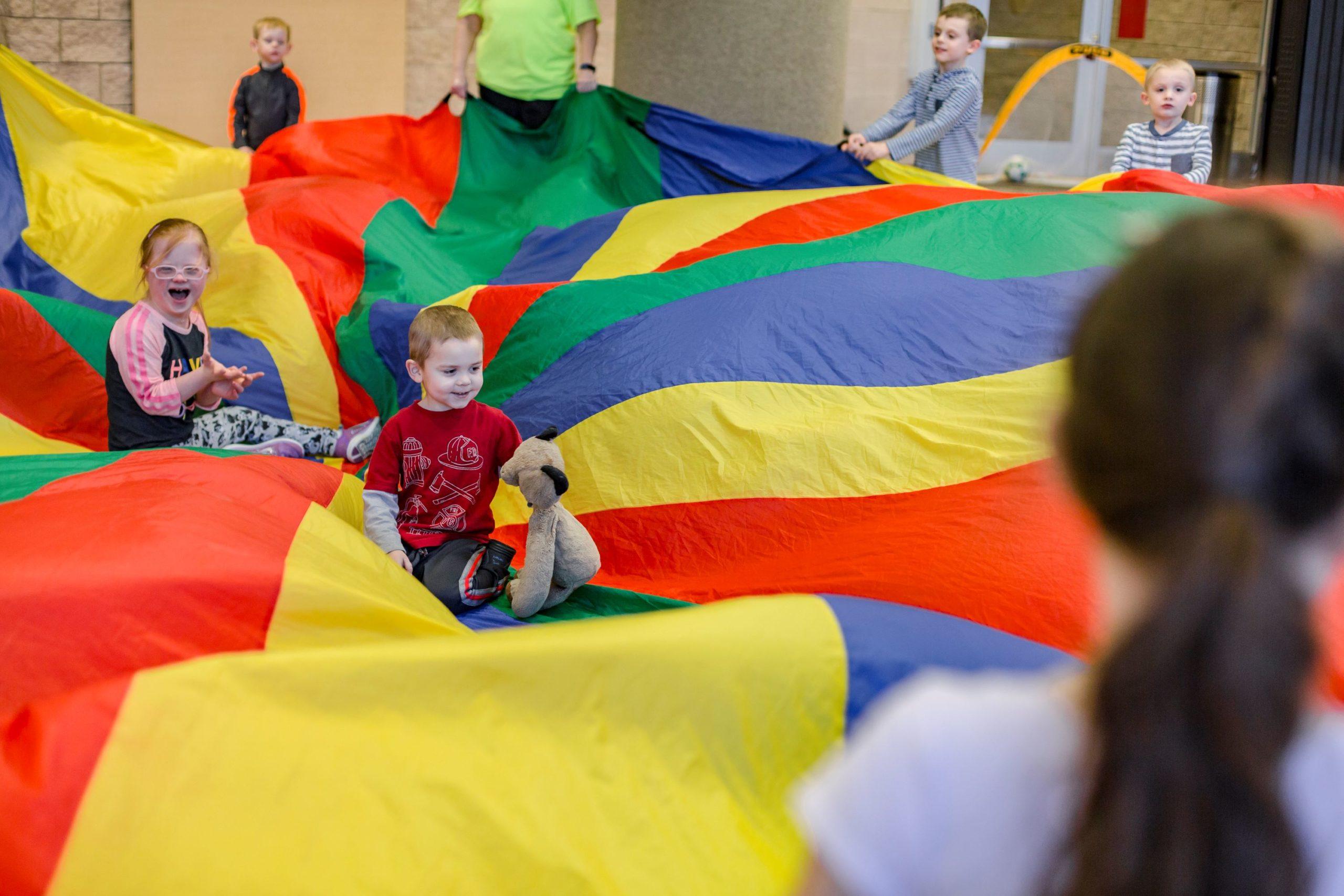 Kids in adaptive program