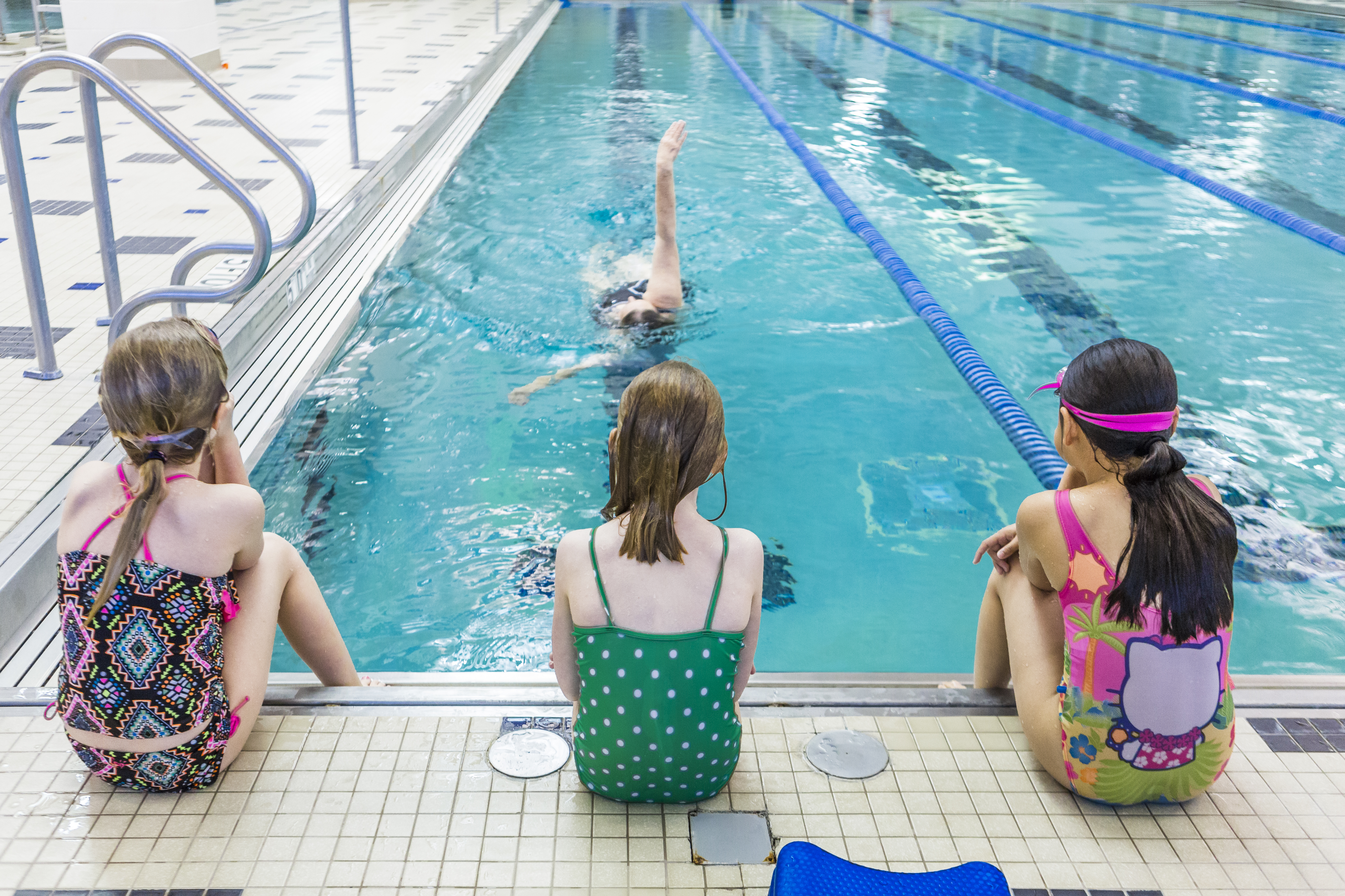 Swim lessons are back at the MCC