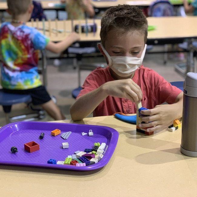 Kids at Woodbrook Elementary ESE