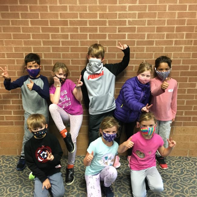 Kids at Smoky Row Elementary ESE