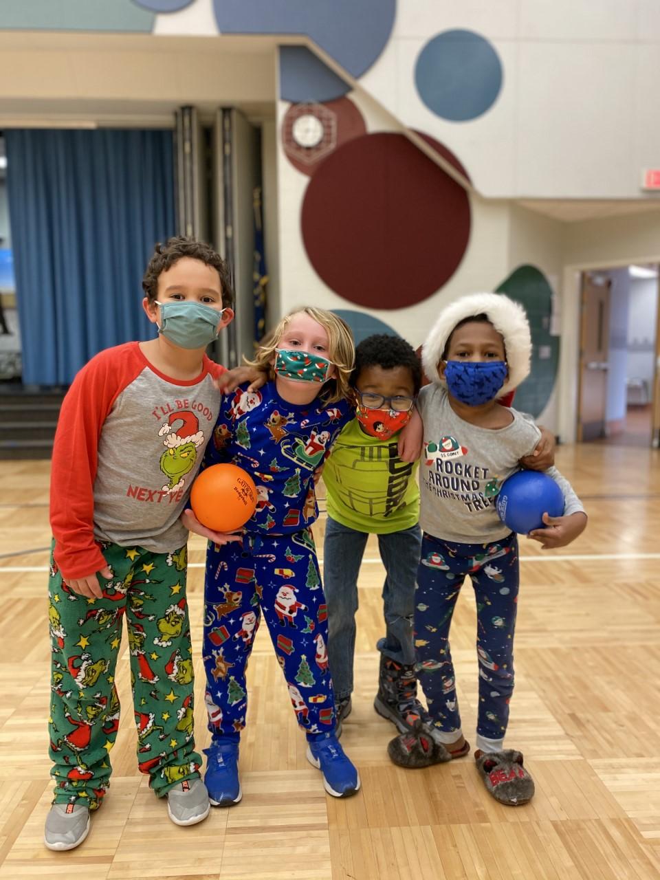 Kids at Carmel Elementary