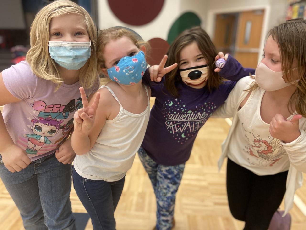 Kids at Carmel Elementary ESE