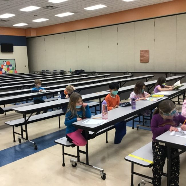 Kids at Prairie Trace Elementary