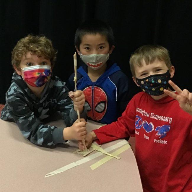 Kids at Smoky Row Elementary