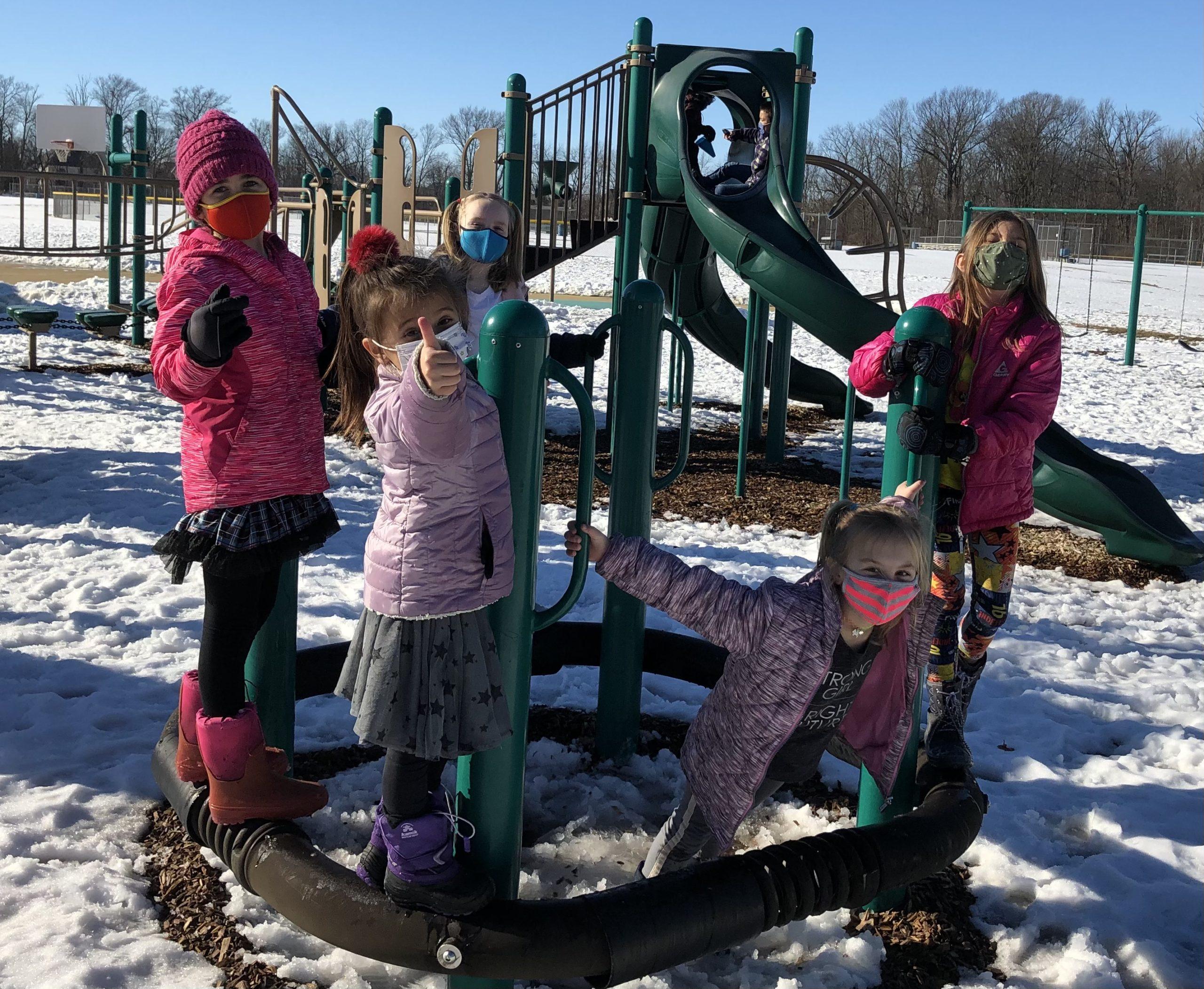 Kids at Towne Meadow ESE