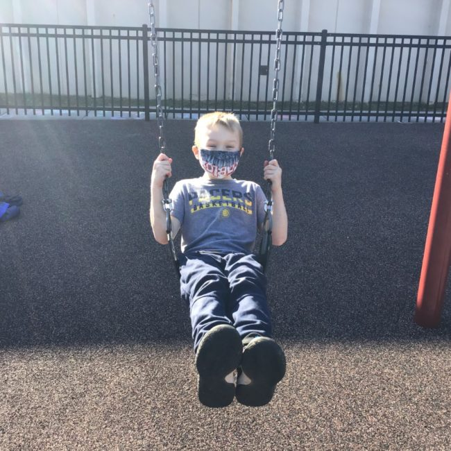 Kid at Woodbrook Elementary ESE