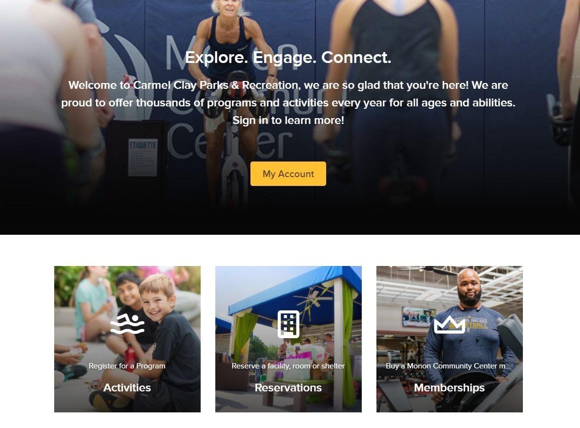 Active Homepage